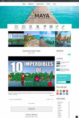 maya-blogger-template-sabmera