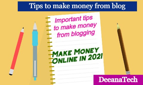 Blog Writing in 2021: Trick for earn Money online