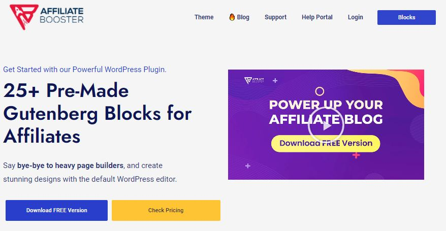 The Best WordPress Theme for Affiliate Marketing: The Ultimate Guide- Affiliate Booster