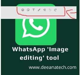 WhatsApp 'Image editing' tool came into the WhatsApp web