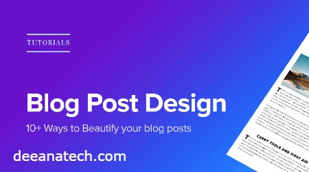 Apne blog ka design karna