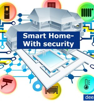 Home security systems- Know Types of Wireless Home security systems- DeeanaTech
