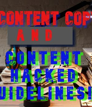Guide what is SEO content writing and Content Hacked Guidelines