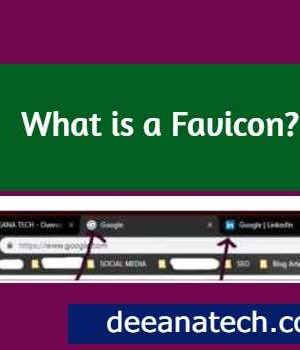 What is a Favicon | Free Favicon | deeanatech.com