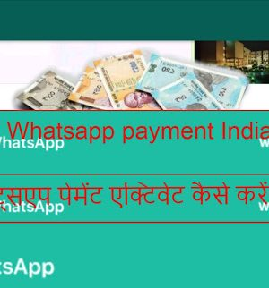 WhatsApp Payment, and How to activate WhatsApp Payment in India| deeanatech.com |
