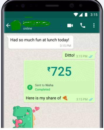 WhatsApp Payment