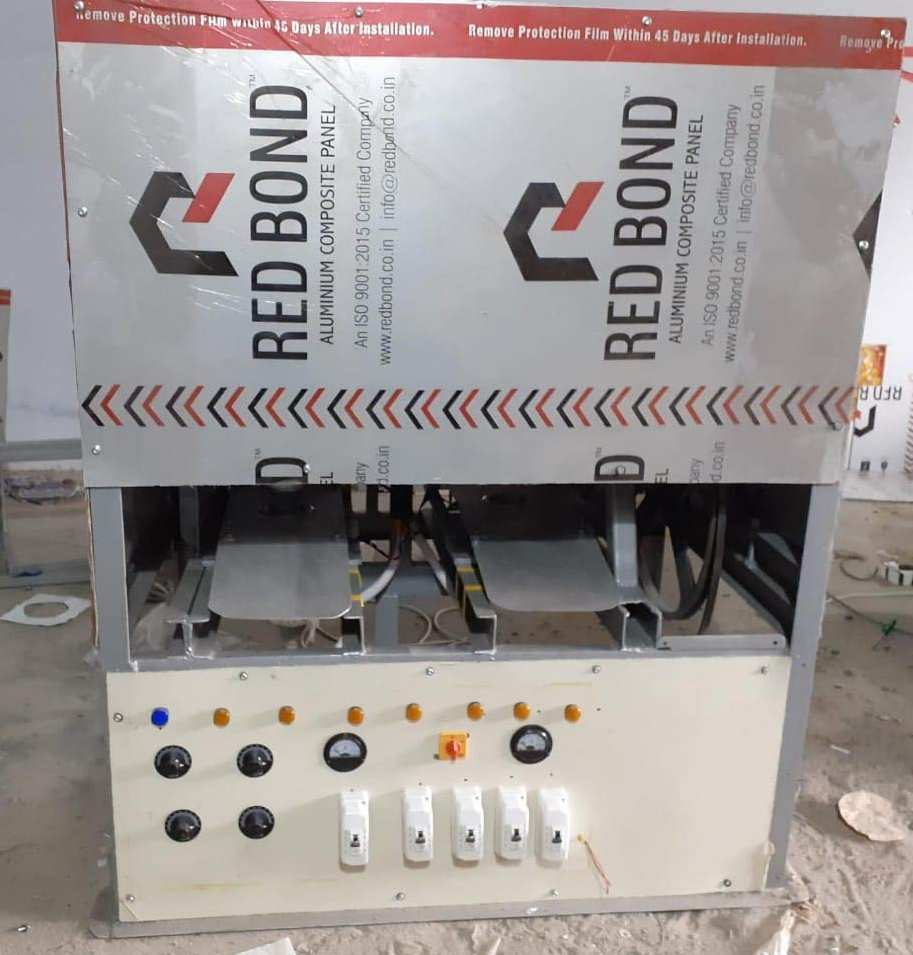 Double Die Fully Automatic Thali Dona Making Machine