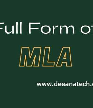 Full Form of MLA- Know about MLA- What is OPD?