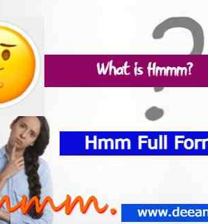 Hmm Full Form in Hindi | Know Hmm meaning in Hindi, Tamil, Marathi