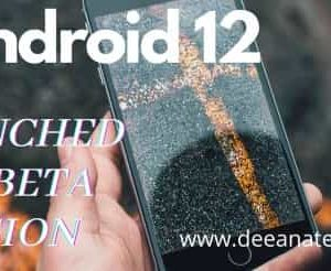 Android 12 launched 4th beta version, game mode with app search-